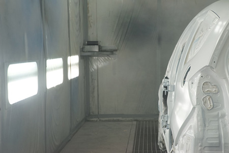 Paint Booth Fire Protection